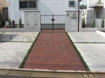 アプローチ 神奈川・相模原エリアでの「外構・エクステリア」を自信を持って施工いたします。_10