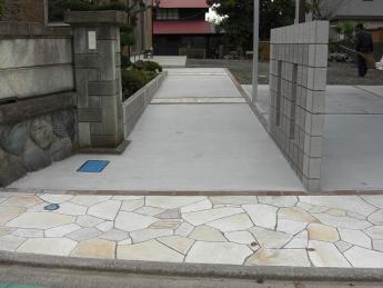 アプローチ 神奈川・相模原エリアでの「外構・エクステリア」を自信を持って施工いたします。_6