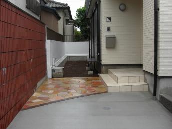 アプローチ 神奈川・相模原エリアでの「外構・エクステリア」を自信を持って施工いたします。_7