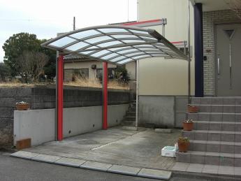 カーポート 株式会社ミキヨシ住宅建材 神奈川・相模原エリアでの「外構・エクステリア」を自信を持って施工いたします。_2