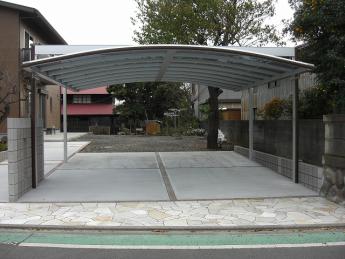 カーポート 株式会社ミキヨシ住宅建材 神奈川・相模原エリアでの「外構・エクステリア」を自信を持って施工いたします。_3