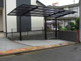 カーポート 株式会社ミキヨシ住宅建材 神奈川・相模原エリアでの「外構・エクステリア」を自信を持って施工いたします。_4