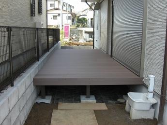 デッキ 株式会社ミキヨシ住宅建材 神奈川・相模原エリアでの「外構・エクステリア」を自信を持って施工いたします。_16