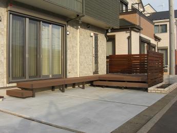 デッキ 株式会社ミキヨシ住宅建材 神奈川・相模原エリアでの「外構・エクステリア」を自信を持って施工いたします。_18
