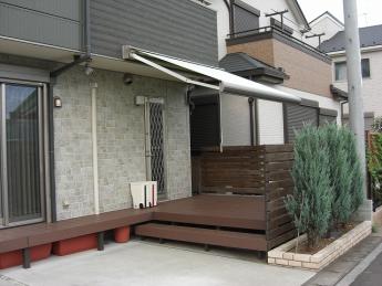 デッキ 株式会社ミキヨシ住宅建材 神奈川・相模原エリアでの「外構・エクステリア」を自信を持って施工いたします。_3