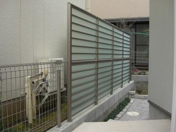 フェンス 株式会社ミキヨシ住宅建材  神奈川・相模原エリアでの「外構・エクステリア」を自信を持って施工いたします。_3