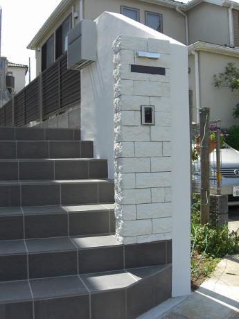 門柱 神奈川・相模原エリアでの「外構・エクステリア」を自信を持って施工いたします。_10