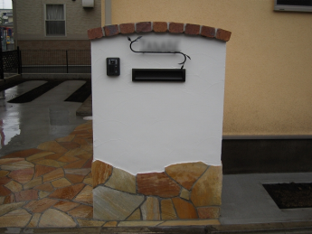 門柱 神奈川・相模原エリアでの「外構・エクステリア」を自信を持って施工いたします。_5