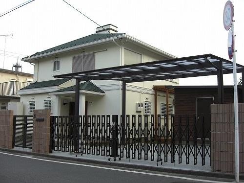 [最新の外構・エクステリア 施工例] 上鶴間本町:N様邸_e_1