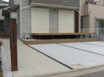 [最新の外構・エクステリア 施工例] 中央区下九沢:U様邸_u_01