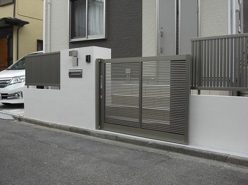 玄関廻りのリフォーム。